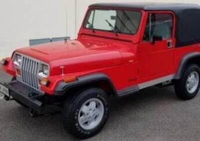 Jeep Wrangler Laredo usata