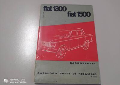 Fiat Catalogo Parti di Ricambio FIAT 1300 FIAT 1500 ORIGINALE 1961  epoca